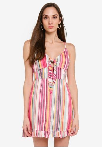 Mink Pink multi Kita Mini Dress D4712AA002F48BGS_1