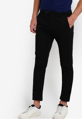 SPARROW GREEN black Tennesee Slim Pants SP065AA86XPHMY_1