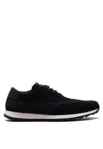 Brodo black BRODO - Sepatu Pria Shinka Mesh Black B7F0ESHB9BBD8DGS_1