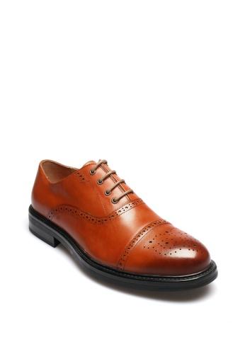 East Rock brown Crossby Men's Formal Shoes 96DF4SH3E72502GS_1