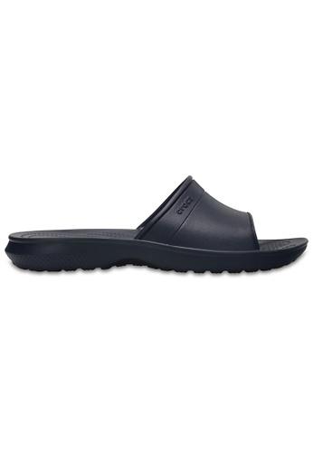 Crocs blue Classic Slide Navy CR883SH0RCDRMY_1