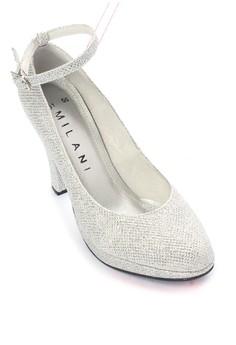 Zandria Formal Glitz Closed with Ankle Strap