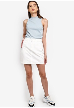 76bd143499a3 Something Borrowed High Waist Mini Skirt HK$ 249.00. Sizes XS S M L XL
