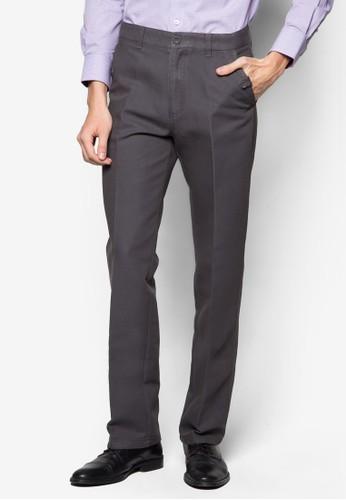 經典棉質西裝長褲esprit地址, 服飾, 直筒褲