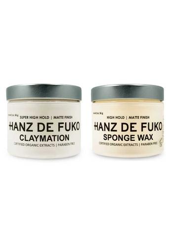 Hanz de Fuko Hanz de Fuko Claymation and Sponge Wax Set HA369BE98NKJSG_1