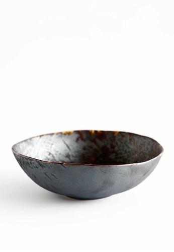 KRA Sanctuary grey Charcoal Grill Free-Form Soup Bowl 2407FHLDB9290FGS_1