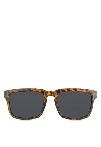 Wayfarer 玳瑁方框太陽眼鏡, 飾品配件, esprit地址長框