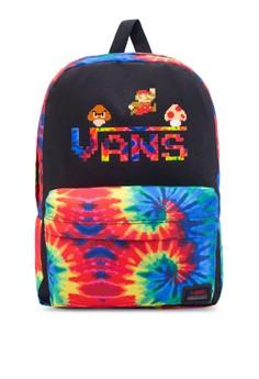 Vans Nintendo Mario Tiedye Backpack image