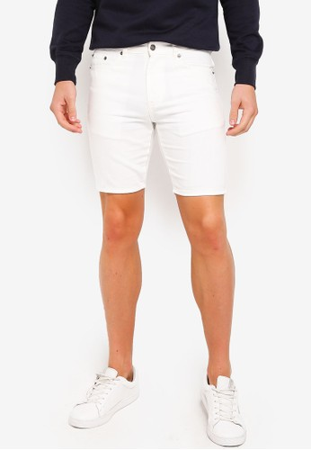 threads by the produce white Denim Bermudas F3C7EAACC2FBB0GS_1