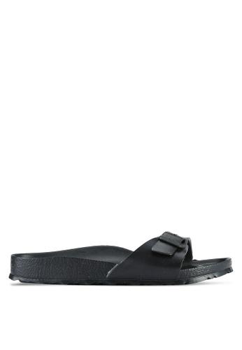Birkenstock black Madrid EVA Sandals BI090SH0RTIAMY_1