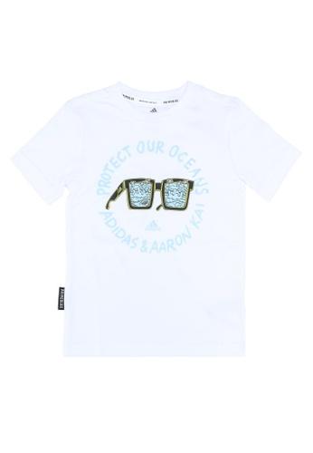 ADIDAS white aaron kai x graphic t-shirt 893A2KA939A526GS_1