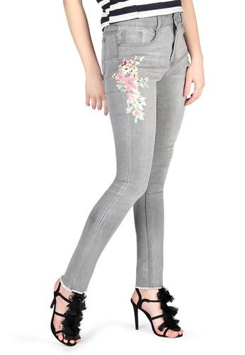 London Rag grey Light Grey Skinny Jeans 22C8CAABD21E5EGS_1