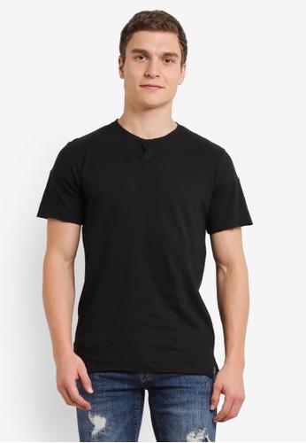 Indicode Jeans 黑色 Scottsdale 基本 混色 Grad T卹 IN815AA0S9B5MY_1
