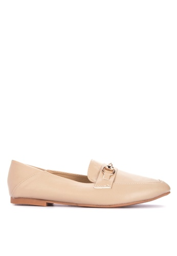 Sofab! beige ZENITH Casual Loafers D0AC3SHBE4B3C0GS_1