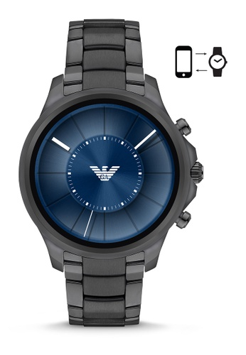 Emporio Armani grey Emporio Armani Alberto Smart Watch ART5005 E64F1ACC22BA48GS_1