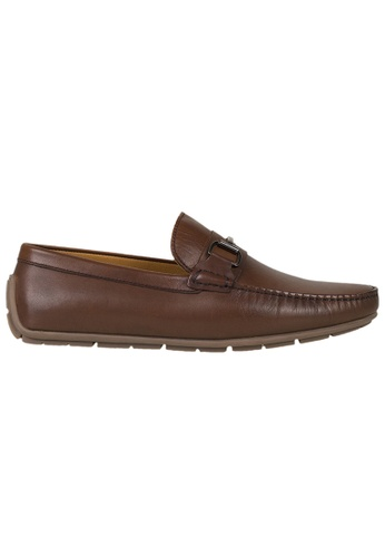 Tomaz brown Tomaz C333 Front Buckled Loafers (Coffee) 26037SH02B855AGS_1
