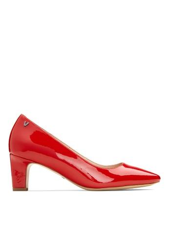 Vionic red Mia Block Heel 0C000SH6DCB519GS_1