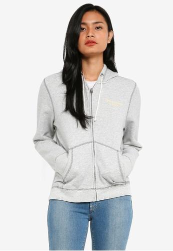 Abercrombie & Fitch grey Logo Sweatshirt F7B55AA487B196GS_1