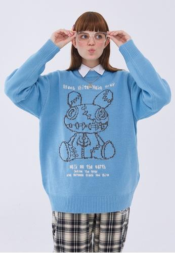Twenty Eight Shoes Trend Cartoon Knit Sweater HH05106 83F59AABFA02E8GS_1