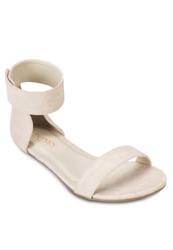 Rosebud 包跟esprit 台中繞踝涼鞋, 女鞋, 鞋