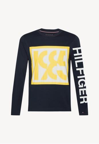 d0c55130c Buy Tommy Hilfiger SLICE NUMERIC LONG SLEEVE Online on ZALORA Singapore
