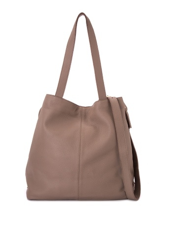 Costal Leather Bags grey Brooklyn Expandable Tote CO233AC0JK40PH_1