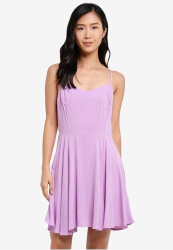 Factorie purple Springtime Lace Up Dress FA880AA0SA8KMY_1
