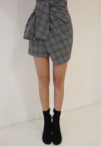 系結迷你短裙esprit tw, 服飾, 洋裝