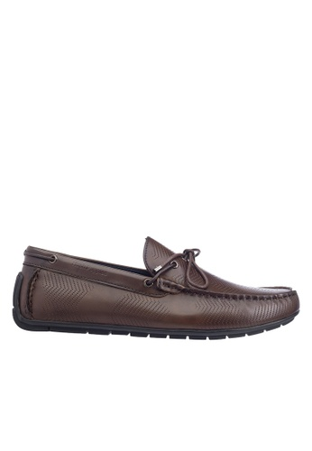 Hush Puppies brown Hush Puppies Men's Jarvis Loafer - Brown 35A83SH7E29EFBGS_1