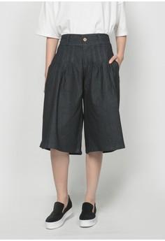 Dark Denim Culottes