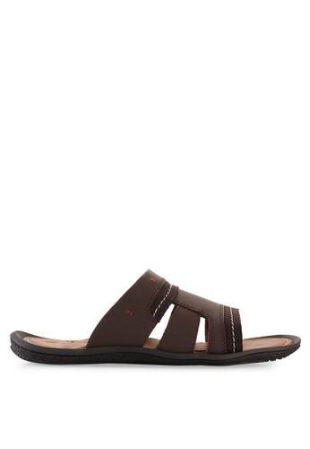 Pakalolo Boots brown Slip On Sandal PA409SH03NZKID_1