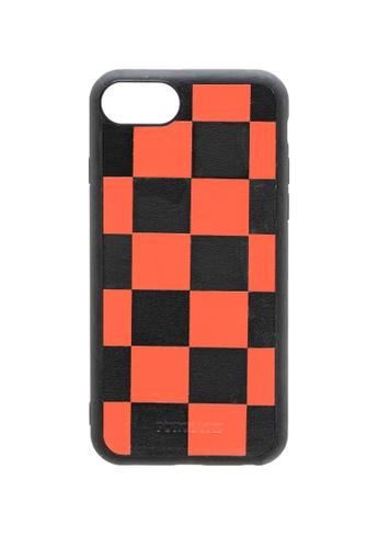 POROLUXE orange PHONE CASE FOR IPHONE 6/7/8 3CC20AC69DE5A5GS_1