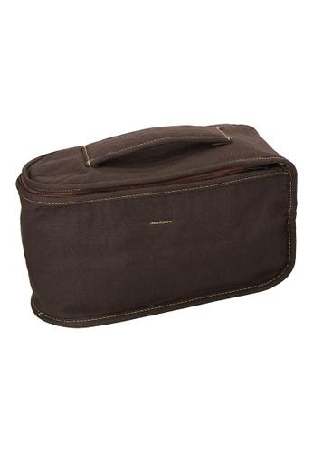 JVD JVD Lifestyle Iron Caddy Bag, Brown 1B907HLFECD827GS_1