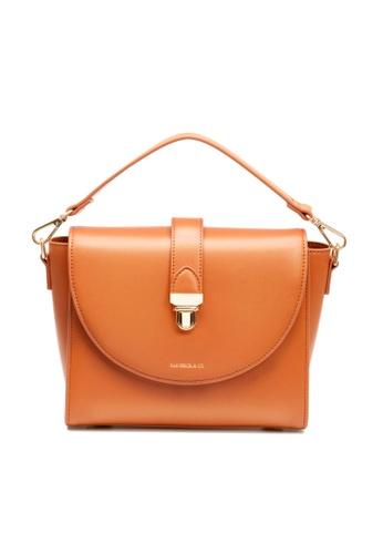 Maverick & Co. brown Maverick & Co. Athena Lustre Crossbody Bag (Caramel Brown) 6B66DACC358FD1GS_1