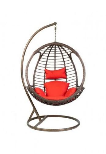 Choice Furniture brown Elvira Outdoor Swing Chair 5B51CHLCA5BDD5GS_1