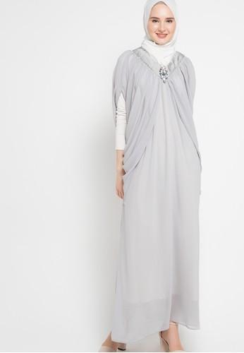 Zumara grey Kaftan Dress ZU038AA14JYBID_1