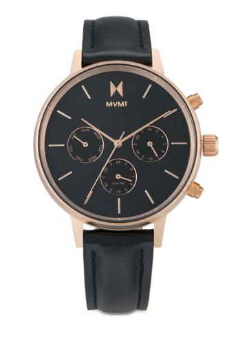 MVMT black and multi MVMT Nova Watch - Vela MV187AC0SZPLMY_1