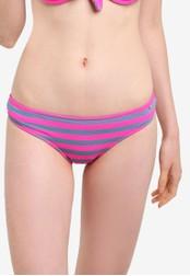 Superdry pink Cali Stripe Bikini Bottom SU137US24LTZMY_1