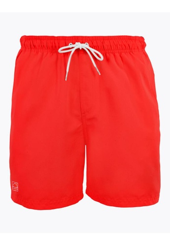 MARKS & SPENCER red M&S Quick Dry Swim Shorts DBEC7US4FF3237GS_1