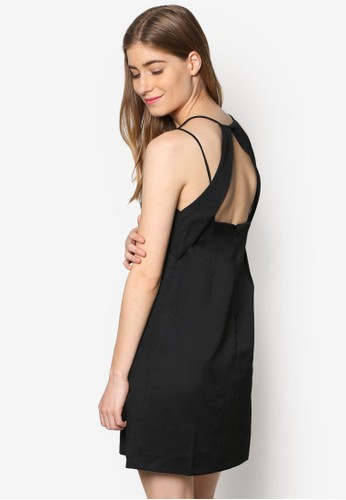 Chapstell 雙肩帶挖背洋裝, esprit 會員服飾, 洋裝