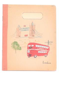 L'après-midi Mini Notebook - London