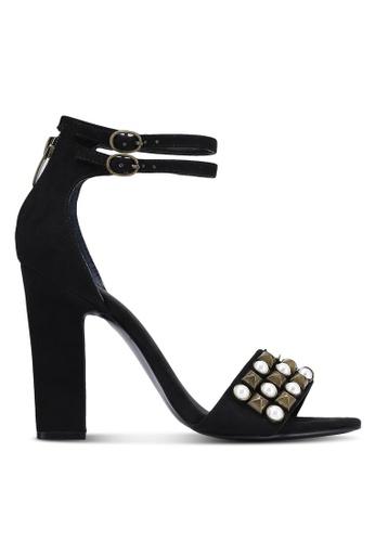 Guess black Petunia Embellished Heels GU020SH0RJCCMY_1