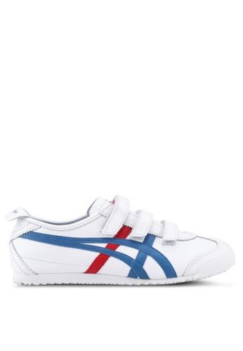 Onitsuka Tiger white Mexico 66 Baja Shoes ON067SH0SVWRMY_1