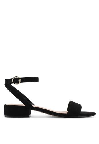 Mango black Ankle-Cuff Sandals C0740SHBA525F6GS_1