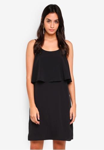 Pieces black Sophia Slip Dress DDB44AAB18F662GS_1