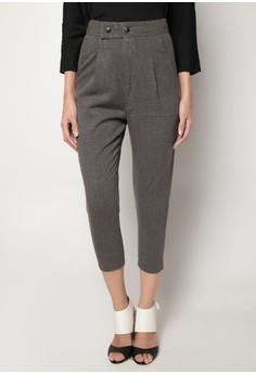 Lad Low-Crotch Casual Pants
