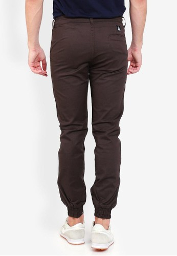Jual Allends Maze Jogger Dark Brown Original | ZALORA
