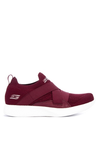 Skechers red Bobs Squad 2 Sneakers 972B2SHEF8F797GS_1