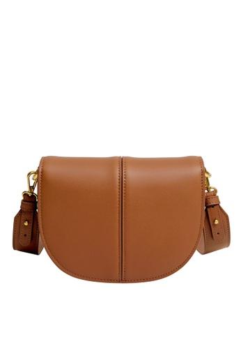 Violeta by MANGO brown Flap Bag C1481AC51E15D4GS_1