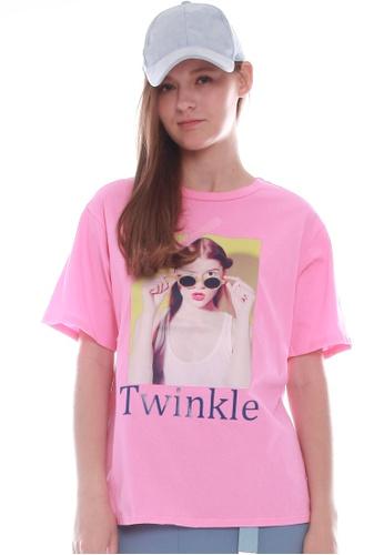 JOVET pink Twinkle Tee 027C6AAF83259FGS_1